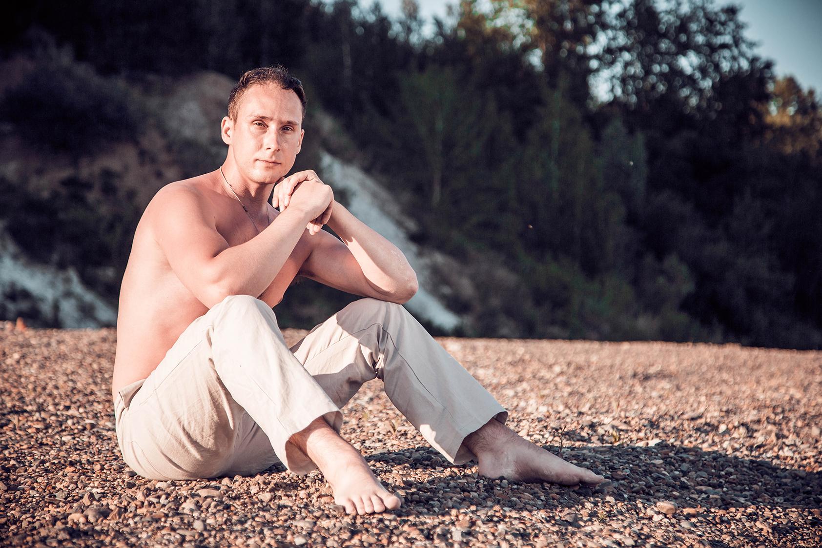 фотографии мужчин на природе род