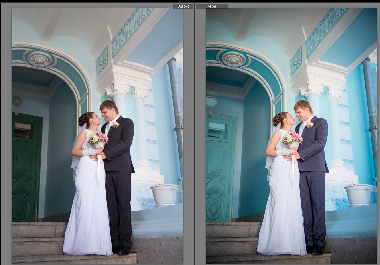 Идеи для свадебной обработки фото