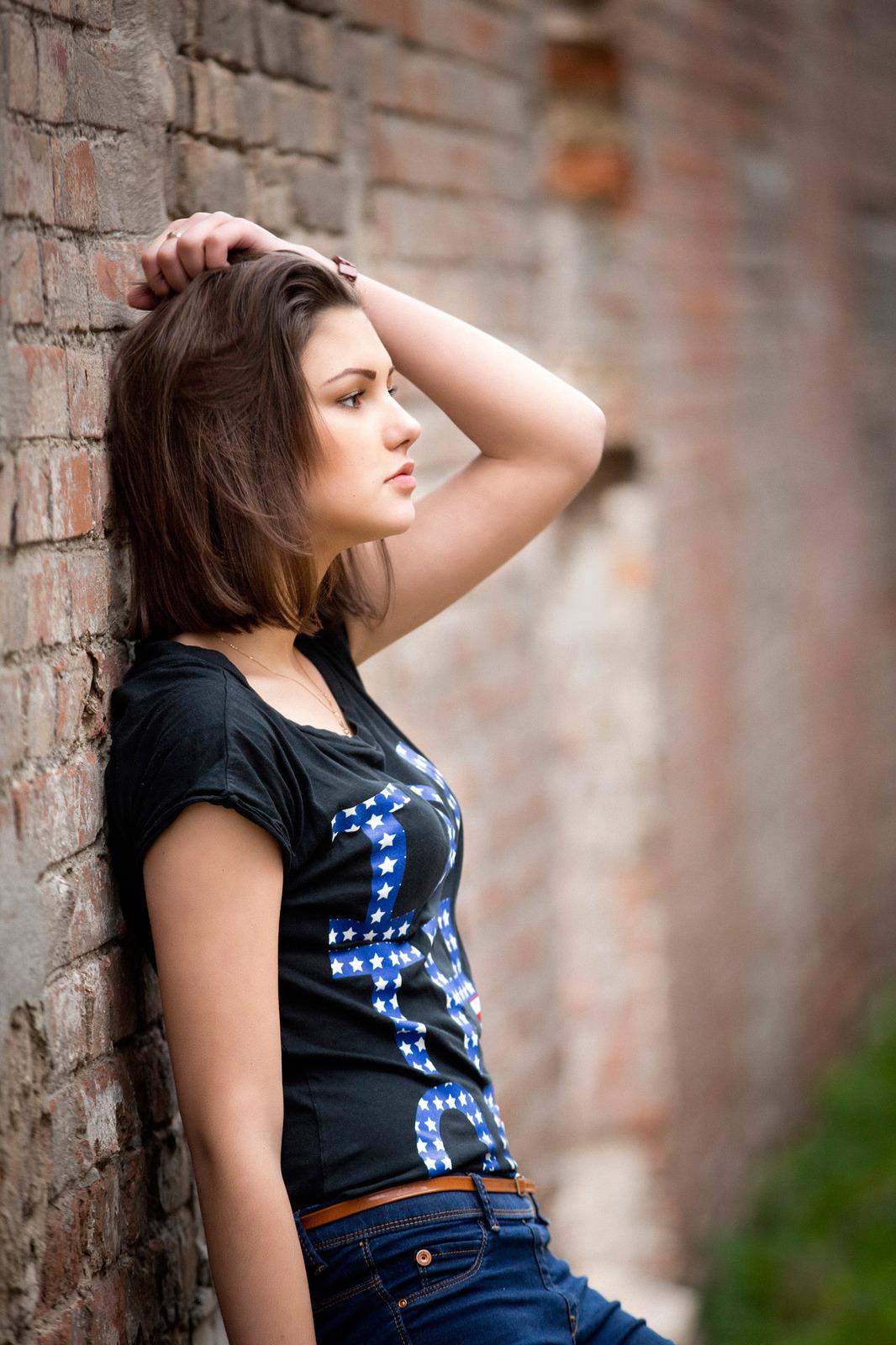 Фото девушек на улице летом 14 фотография
