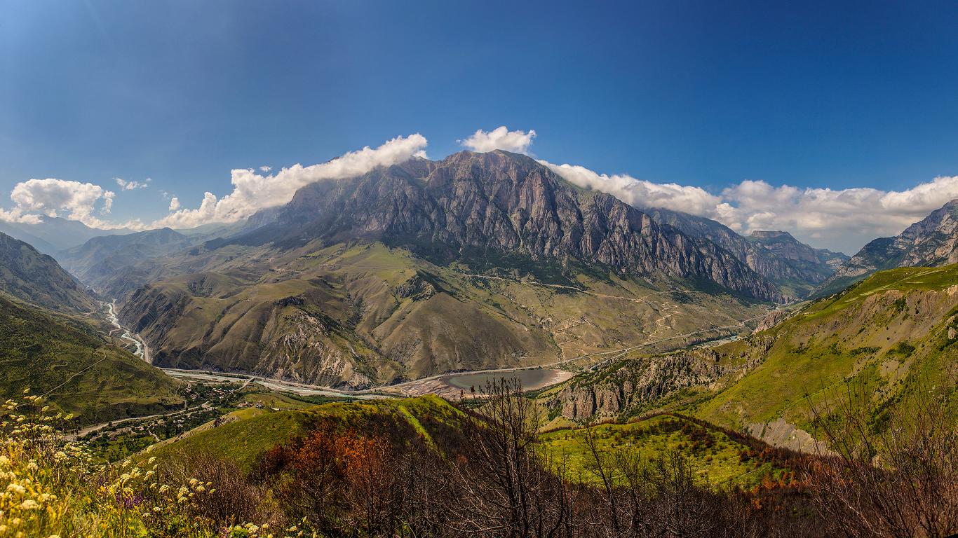 Фото гор северной осетии очень высокого качества какой-то