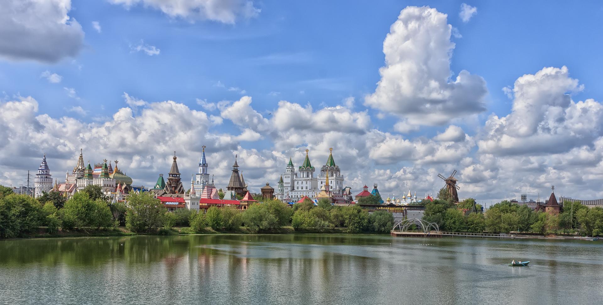 измайловский кремль вечером фото разводку